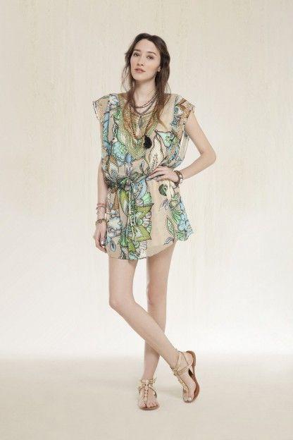 Vestido Zenobia Acuarela
