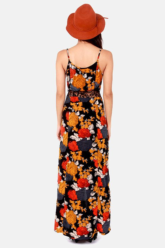 Volcom take me home maxi dress