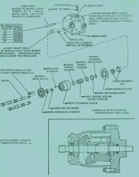 Vickers Mfe 15 19 Series Hydraulic Fixed Displacement Motor Hydraulic Motor Repair