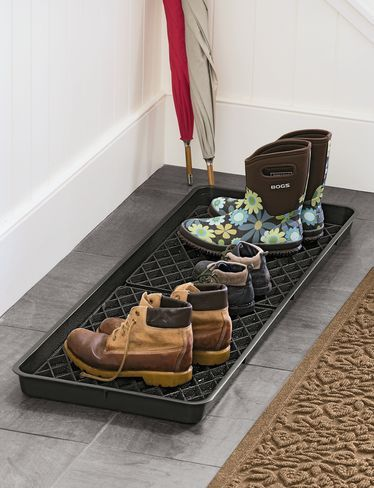 Need this:  Large Boot Tray Set