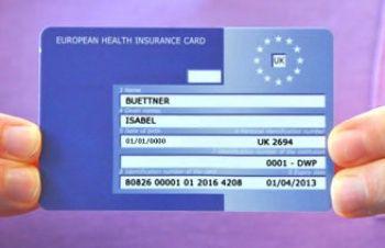EU sjukvårdskort