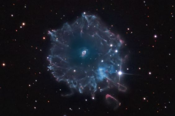 Halo of the Cat's Eye
