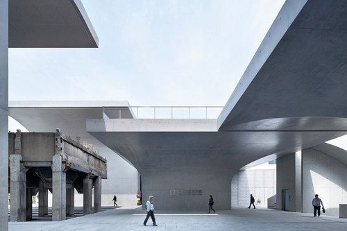 Long Museum West Bund, Shanghai, China by Atelier Deshaus |