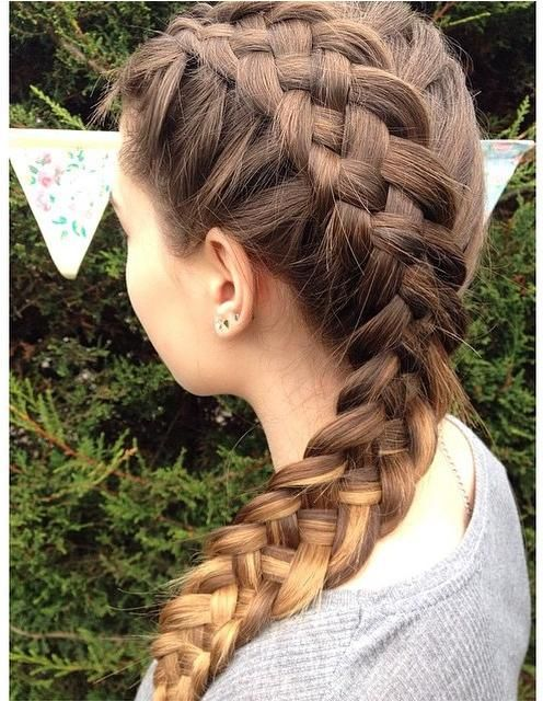 Five Strand Braided Hairstyles 2015