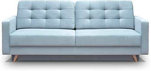 New Meble Furniture Rugs Vegas Futon Sofa Bed Queen Sleeper Storage Blue Online Wouldtopshopping In 2020 Futon Sofa Bed Futon Sofa Furniture