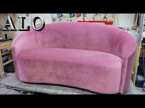 How To Upholster A Sofa Alo Upholstery Youtube En 2020