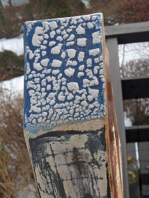 Marc Bell Lichen over Cobalt slip | Flickr - Photo Sharing!