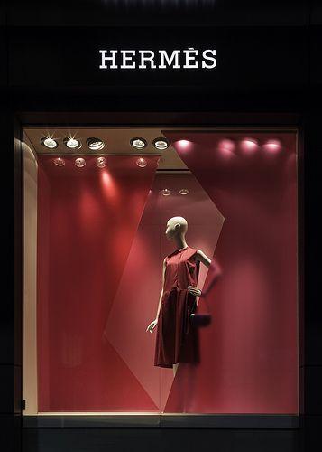 Hermès display window, Sydney, Australia:
