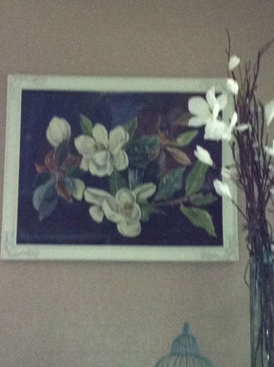 Our Great aunt Ethel's painting (1 of 2)! 1920's!