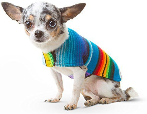 Amazon Com Baja Ponchos Dog Clothes Handmade Dog Poncho