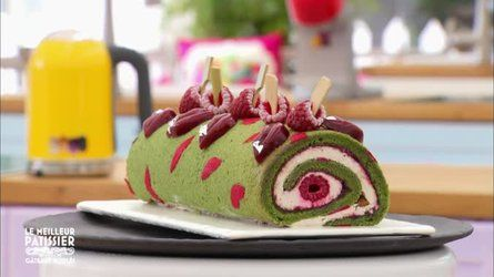 Gâteau roulé kisses de Christophe Roussel une recette de Le meilleur ...