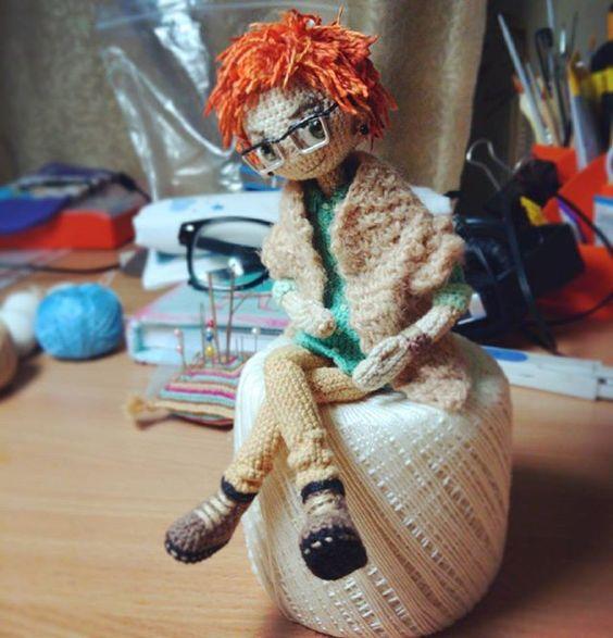 Amigurumi doll.: