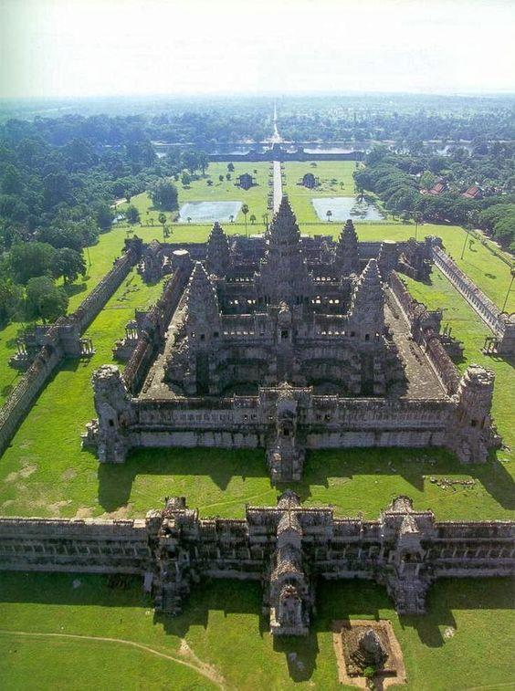 El impresionante Templo Angkor Wat, Camboya