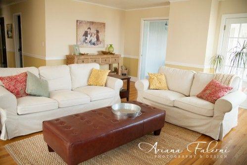 Ikea Living Room Ideas Ektorp ikea ektorp sofa, svanby beige slipcover | my living room
