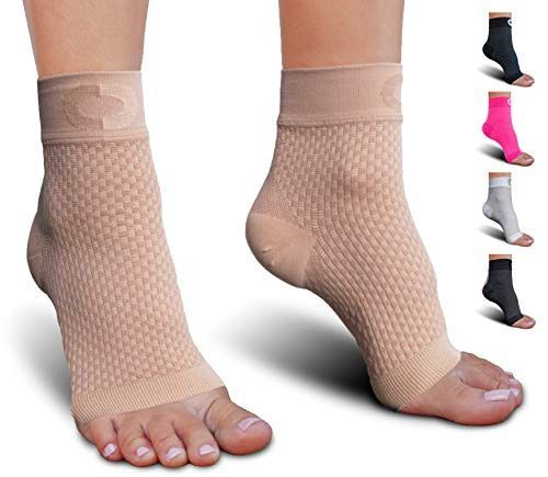 Socks for Foot Ankle Compression for Men and Women Foot-wear with Arch Support