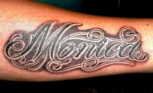 the name monica images miss monica sanz tattoo a tit a tat how 39 bout a tattoo pinterest. Black Bedroom Furniture Sets. Home Design Ideas