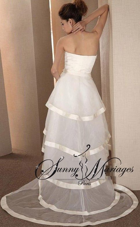robe de mariee deux en un, robe de mariee originale, robe de mariee transformable 2