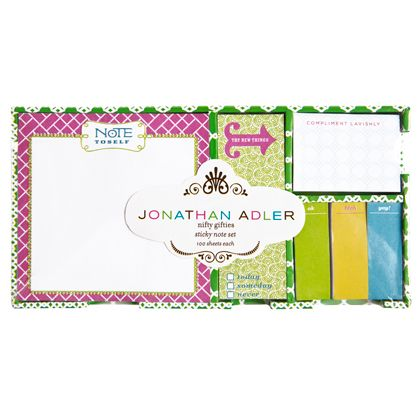 diamond lattice sticky note set