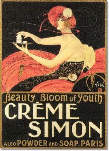 Vintage cosmetic print-love!