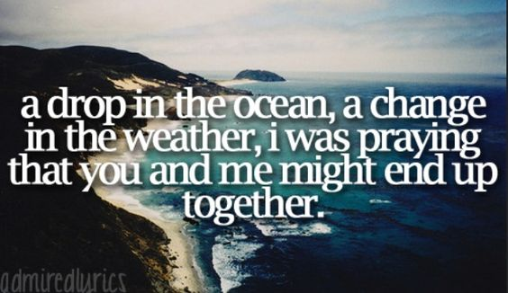 A Drop In The Ocean by Ron Pope #lyrics #songs
