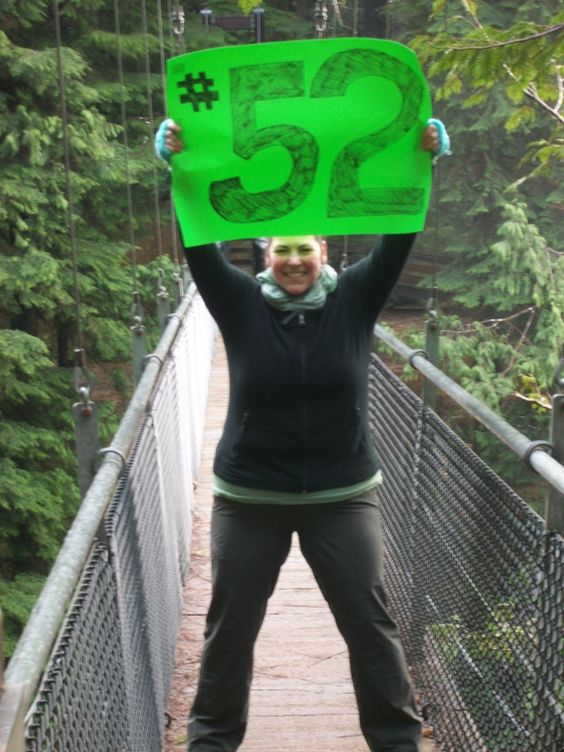 I do know I have 7 hikes to update here, as the final days of the year have been a mad frenzy, but... I DID IT!!!! I COMPLETED 52 TREKS IN 2012!!!!!! VICTORY!!!!! My 52nd trek was completed at Drif...