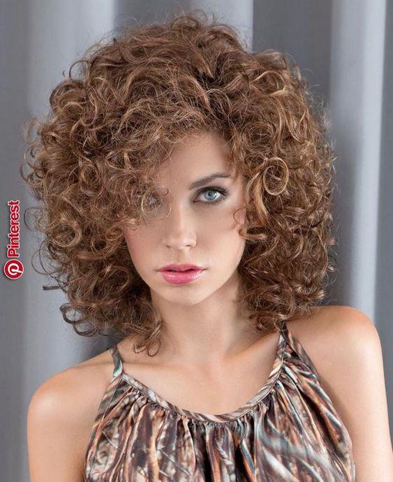สวยมาก❤❤ | ผมสวยน่ารัก☔☔ in 2019 | Pinterest | Permed hairstyles, Curly hair styles and Hair