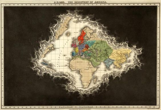 the known world / David Rumsey Historical Map Collection | Timeline Maps