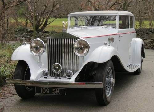 1934 Rolls-Royce Phantom II Continental Gurney Nutting Sports Saloon 109SK