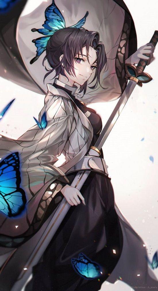 Gambar Anime Cewek Keren Manga Anime Ilustrasi Karakter Lukisan Keluarga