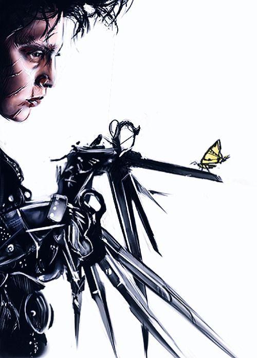 Pixelated Nightmares Edward Scissorhands By L0ne Star Click