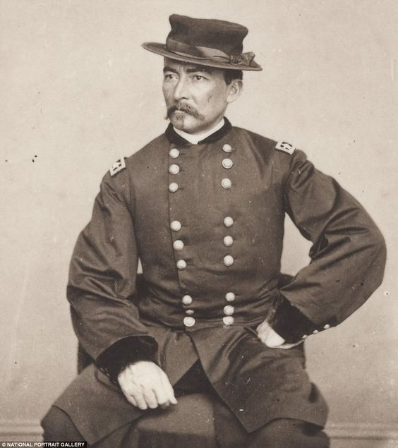 Philip Sheridan (1831-1888) used brutal 'scorched earth' tactics on the Shenandoah Valley in Virginia, but later became a strong supporter of Yellowstone National Park; he was made General of the Army shortly before his death