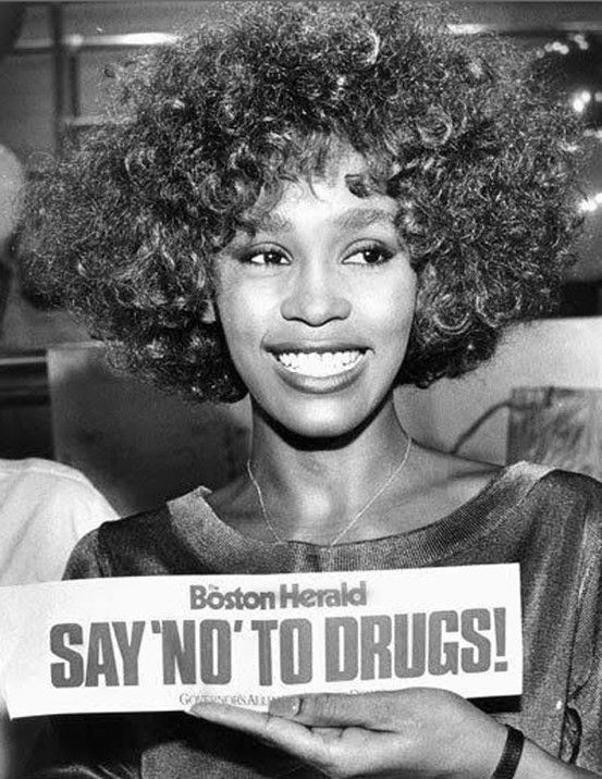 Whitney Houston x Boston Herald