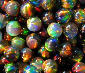Black Opal marbles. Cool. Don't lose 'em like most people are do'en these day's!