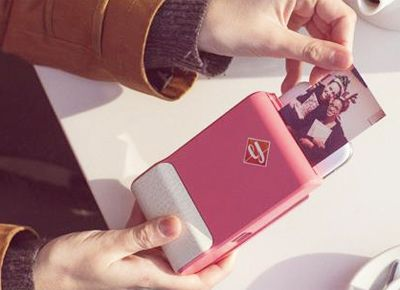 Instant photos from your phone? No way? WAY! -- A way cool gadget that helps make the most of your digital photos --  Prynt, which turns your smartphone into a Polaroid camera.........