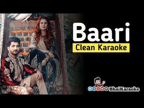 Baari Karaoke Bilal Saeed Momina Mustehsan Punjabi Karaoke Bhaikaraoke Youtube Karaoke Songs Singer
