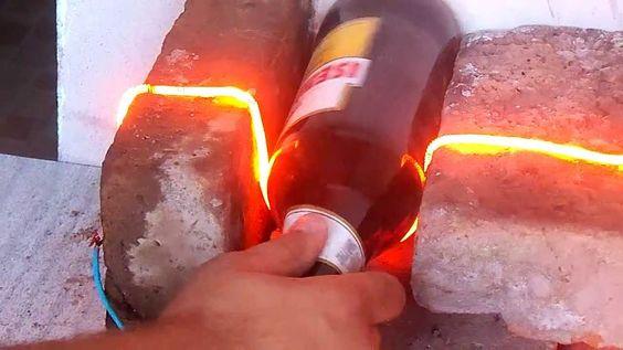 Como hacer vasos con botellas de vidrios botellas y - Que hacer con botellas de vidrio ...