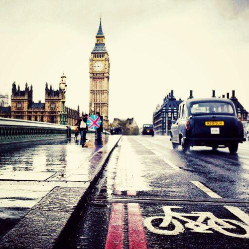 Rainy London  #RePin by AT Social Media Marketing - Pinterest Marketing Specialists ATSocialMedia.co.uk