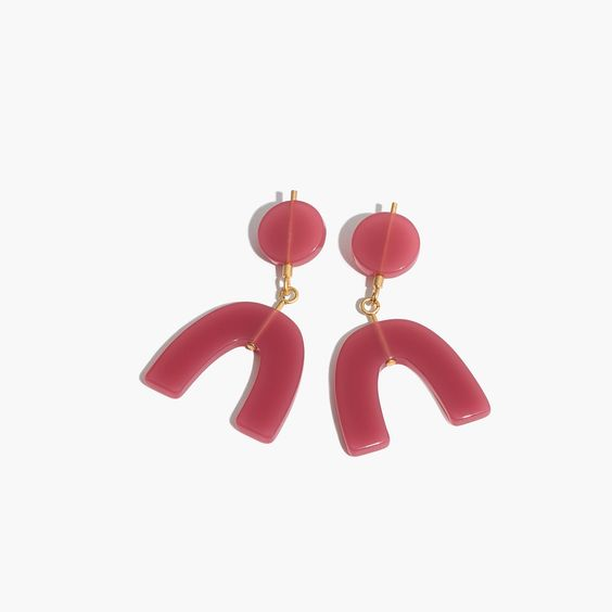 Shapes Statement Earrings : earrings | Madewell