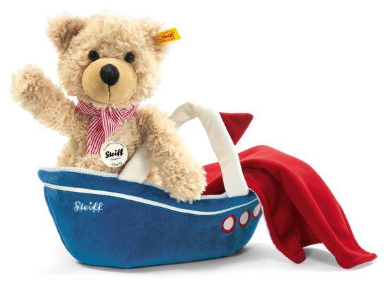 ahoi* Teddy Charly mit Tasche von Steiff