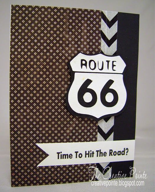 Goodbye Card--SVG Route 66 | Card Inspiration | Pinterest ...
