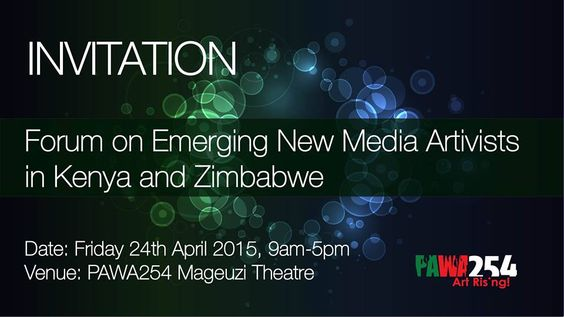 #ZimKeConnect Emerging #NewMedia ARTivists Workshop will roll all da day to 5pm, you are highly welcomed at @Pawa254