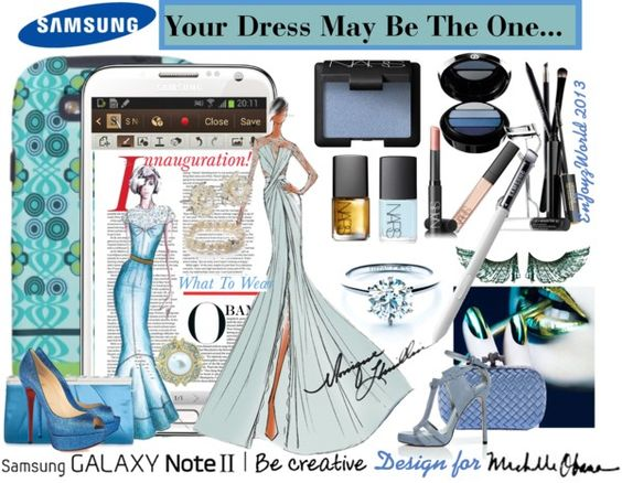 """Create your Downtown Muse with Samsung GALAXY Note II Contest"" by enjoyzworld ❤ liked on Polyvore"