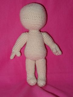 Basic Character Doll Amigurumi Crochet Pattern : Tes, Ravelry and Patterns on Pinterest