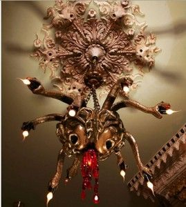 Adam Wallacavage Medusa chandelier.  If you don't know about him yet, you should. :)