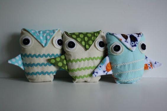 see kate sew: rick rack owl PDF pattern