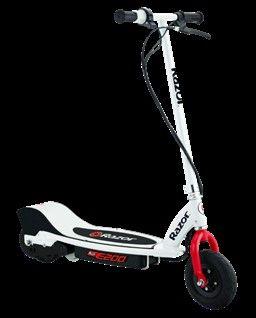 White//Red NEW Razor E200 Electric Scooter
