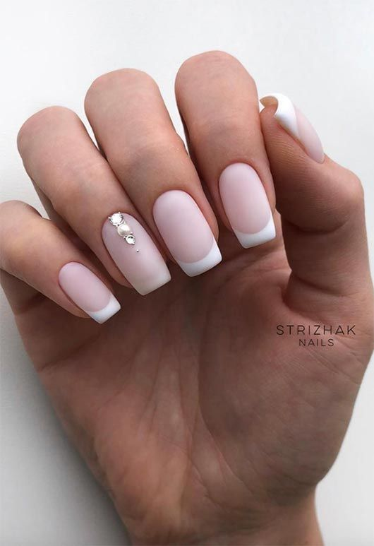 27 Fresh French Nail Designs How To Do French Manicure At Home Gel French Manicure French Nails French Nail Designs