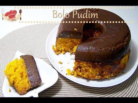 Bolo Pudim, Bolo de cenoura com pudim de chocolate  Assista a vídeo receita completa em http://www.cookmade.com.br/149/bolo-pudim-bolo-de-cenoura-com-pudim-de-chocolate