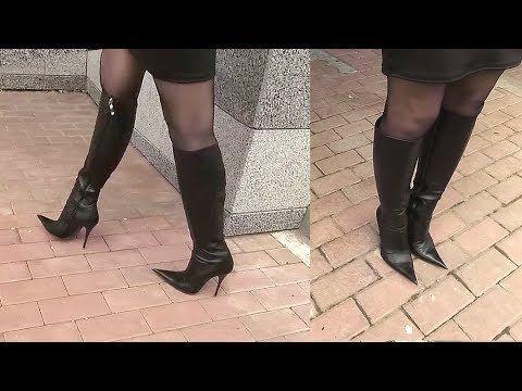 Walk in Icone high heels italian boots