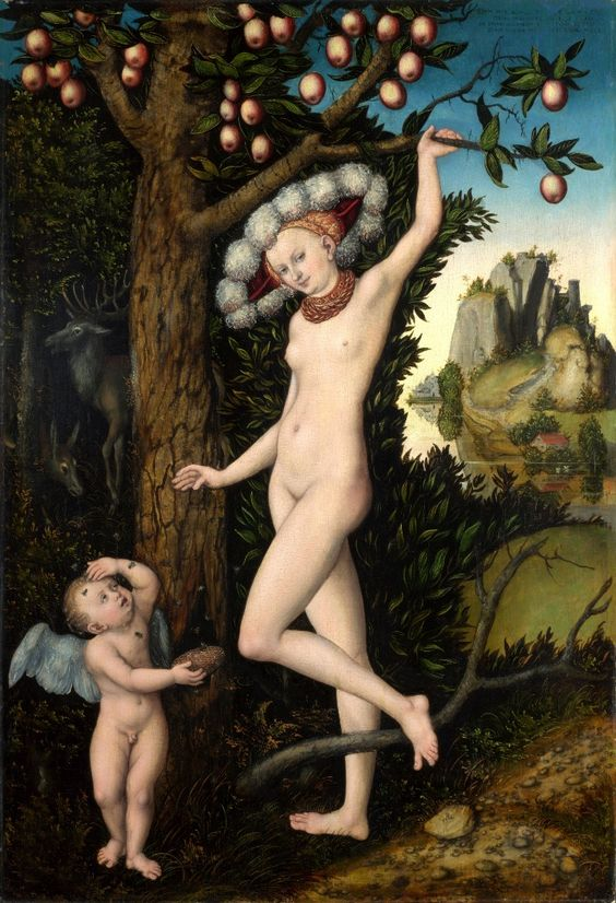 Cupido quejándose a Venus (ca. 1526-7). The National Gallery, Londres